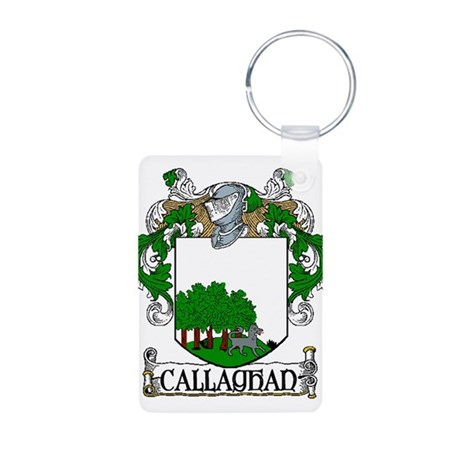 Callaghan Coat of Arms Aluminum Photo Keychain