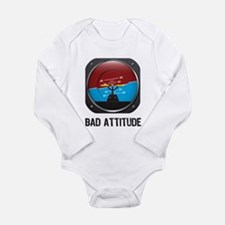 Bad Attitude Long Sleeve Infant Bodysuit