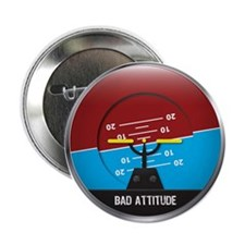 "Bad Attitude 2.25"" Button"