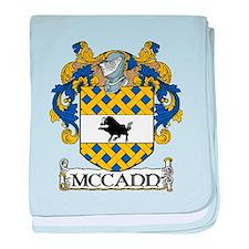 McCann Coat of Arms baby blanket