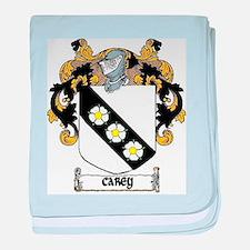 Carey Coat of Arms baby blanket
