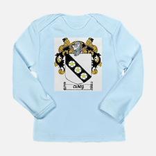 Carey Coat of Arms Long Sleeve Infant T-Shirt