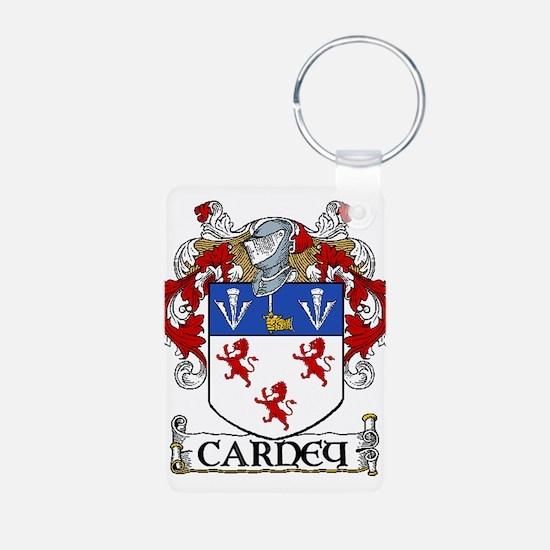 Carney Coat of Arms Aluminum Photo Keychain