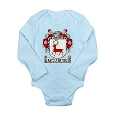 McCarthy Coat of Arms Long Sleeve Infant Bodysuit
