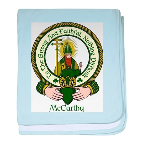 McCarthy Clan Motto baby blanket