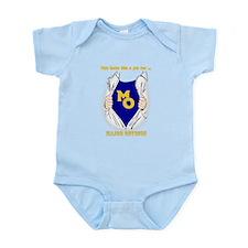 Major Obvious_ gold Lettering Infant Bodysuit