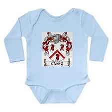 Casey Coat of Arms Long Sleeve Infant Bodysuit