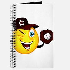 SMILEY {2} softball -crimson- Journal