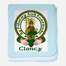 Clancy Clan Motto baby blanket