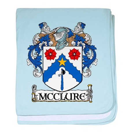 McClure Coat of Arms baby blanket