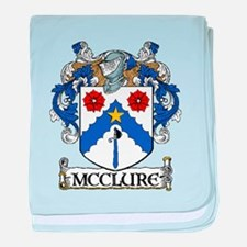 McClure Coat of Arms baby blanket
