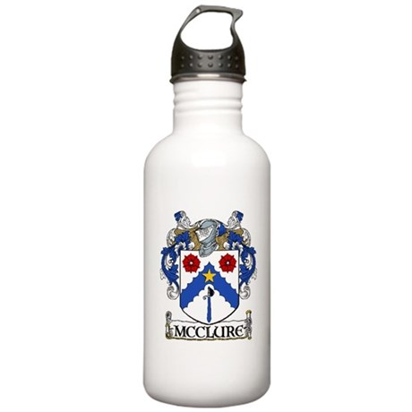 McClure Coat of Arms Stainless Water Bottle 1.0L
