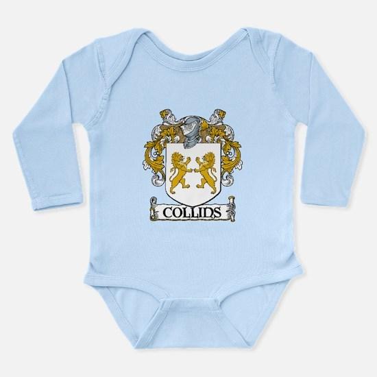 Collins Coat of Arms Long Sleeve Infant Bodysuit