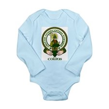 Collins Clan Motto Long Sleeve Infant Bodysuit