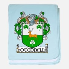 O'Connell Coat of Arms baby blanket