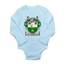 O'Connell Coat of Arms Long Sleeve Infant Bodysuit