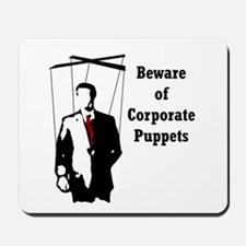 Corporate Puppet Mousepad
