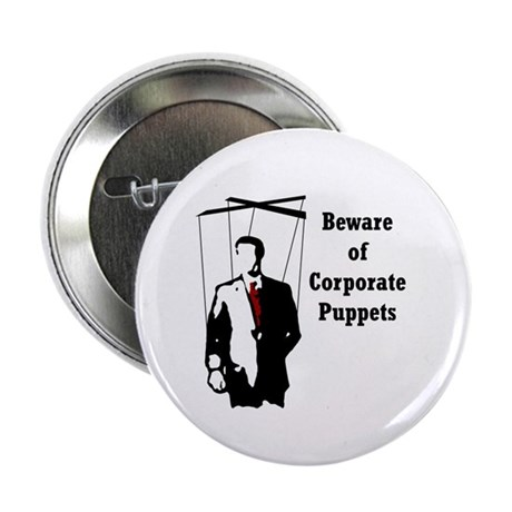 """Corporate Puppet 2.25"""" Button (100 pack)"""
