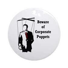 Corporate Puppet Keepsake (Round)