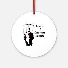 Corporate Puppet Keepsake (Round)