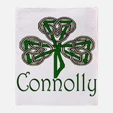 Connolly Shamrock Throw Blanket