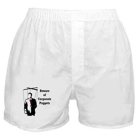 Corporate Puppet Boxer Shorts