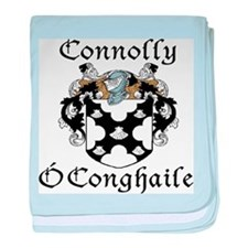 Connolly in Irish/English baby blanket
