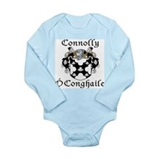 Connolly in Irish/English Long Sleeve Infant Bodys
