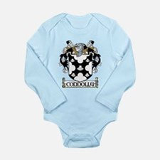 Connolly Coat of Arms Long Sleeve Infant Bodysuit