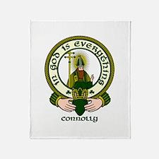 Connolly Clan Motto Throw Blanket