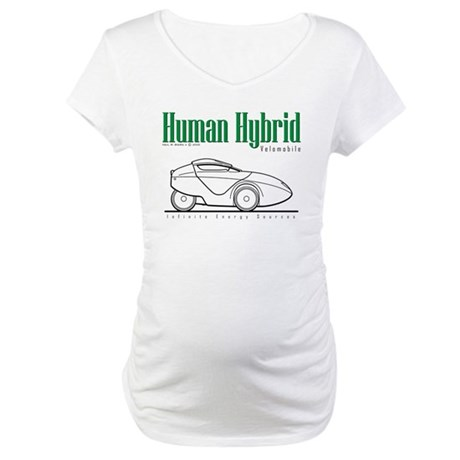 Velomobile Maternity T-Shirt