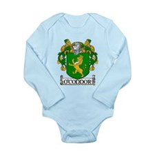 O'Connor Coat of Arms Long Sleeve Infant Bodysuit