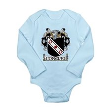Conway Coat of Arms Long Sleeve Infant Bodysuit