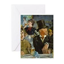 Cafe Concert Greeting Cards (Pk of 20)