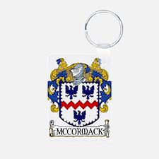 McCormack Coat of Arms Aluminum Photo Keychain