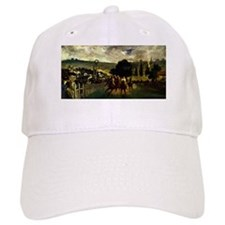 Racing at Longchamp Baseball Cap