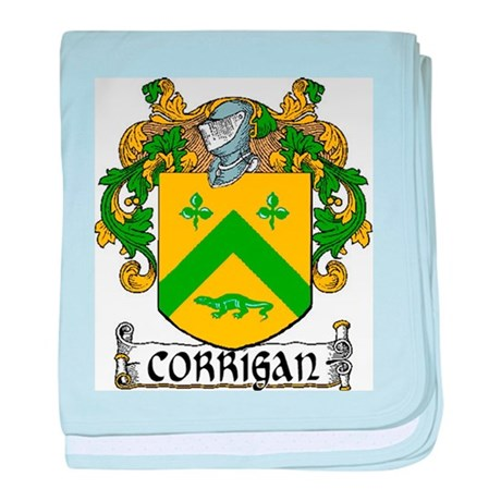 Corrigan Coat of Arms baby blanket