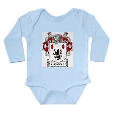 Crosby Coat of Arms Long Sleeve Infant Bodysuit