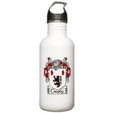 Crosby Coat of Arms Water Bottle