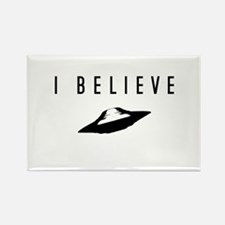 UFO I Believe / Rectangle Magnet