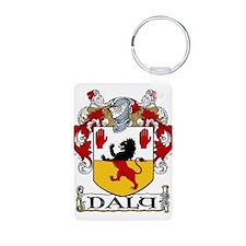 Daly Coat of Arms Aluminum Photo Keychain