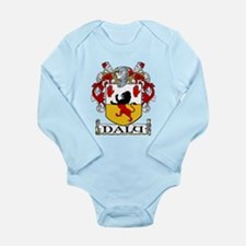 Daly Coat of Arms Long Sleeve Infant Bodysuit