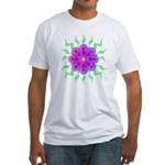 Flowers Fitted T-Shirt