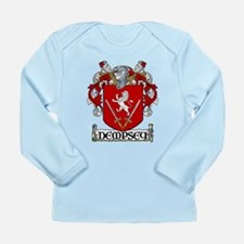 Dempsey Coat of Arms Long Sleeve Infant T-Shirt