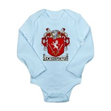 Dempsey Coat of Arms Long Sleeve Infant Bodysuit