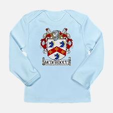 McDermott Coat of Arms Long Sleeve Infant T-Shirt