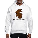 Bunny Butt Hurts Hooded Sweatshirt