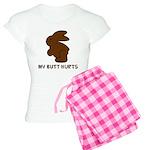 Bunny Butt Hurts Women's Light Pajamas