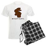 Bunny Butt Hurts Men's Light Pajamas