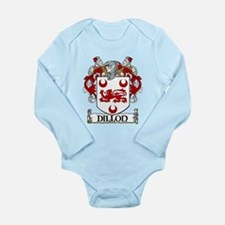 Dillon Coat of Arms Long Sleeve Infant Bodysuit